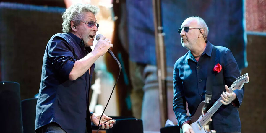 O vocalista Roger Daltrey e o guitarrista Pete Townshend, da banda de rock The Who (Foto: Chris Pizzello/Invision/AP)